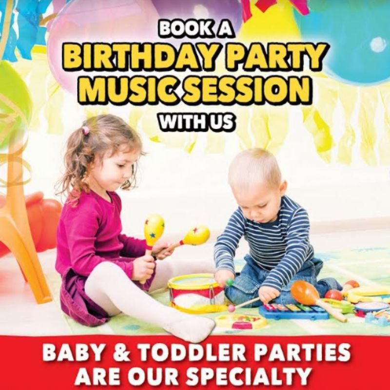 Book a Birthday Party Music Session with us